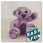 Bear Kit Needle felting