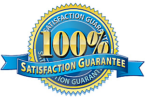 Living Felt 100% Satisfaction Guarantee